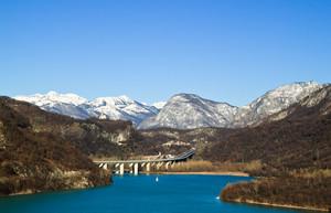 Sul Lago di Cavazzo