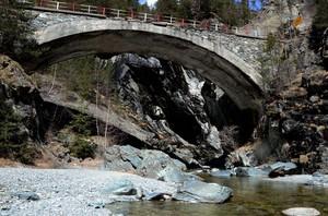 Un bel ponte in Val Brutta