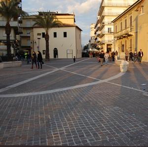 La piazza in centro