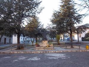 Piazza Cavour a Cerenzia