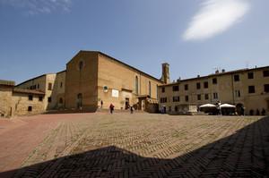 Piazza Sant'Agostino – San Gimignano