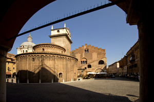 Piazza  della Concordia Mantova