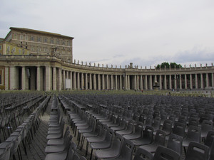 Aspettando il Papa 1
