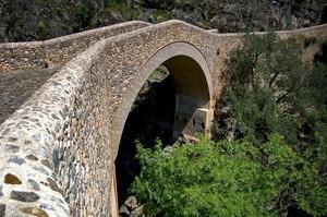 Civita: il ponte del Diavolo sul Raganello