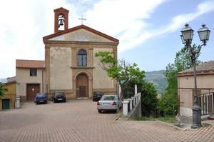 Piazza del Carmine con la chiesa omonima