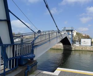 Il ponte levatoio sul Tevere