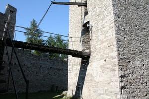 Ponte nel Castello di Vezio