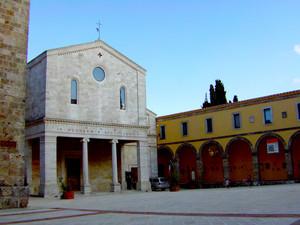 Chiusi piazza Carlo Baldini già piazza Duomo