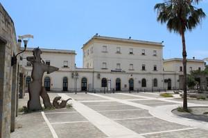 Piazza San Leone Magno a Metaponto Borgo