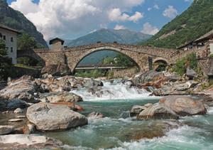 Spettacolo ponte- torrente Lys- giornata!!!