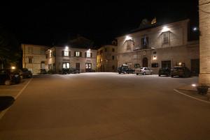 Colmurano (MC): piazza Umberto I