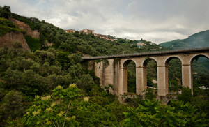 il ponte antico di Seiano