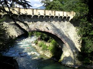 L'antico  ponte romano sul Passirio