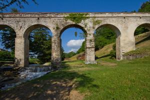Ponte e Acquedotto dal 1730