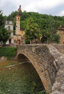 Ponte sul Torrente Grana