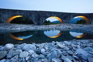 L'ora blu sotto al Ponte Gobbo