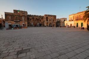 La Piazza col Palazzo Ducale