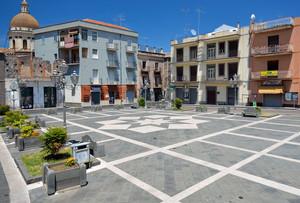 Randazzo – Piazza del Municipio