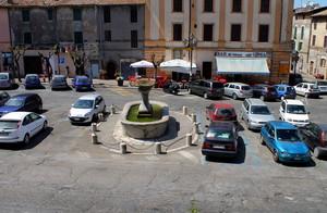C'è anche una fontana….