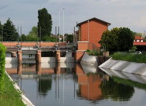 Sul canale Villoresi