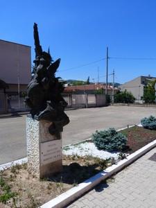 Piazza Agostino Mastrodicasa agente di P.S. nella fraz. di Piano D'Orta