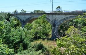 Ponte sul fiume Orta nei pressi della contrada Cesare