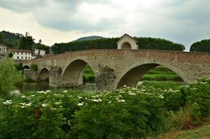 Omaggio floreale al ponte