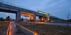 Ponte e stazione