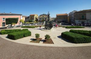 Piazza dei Caduti in Miniera