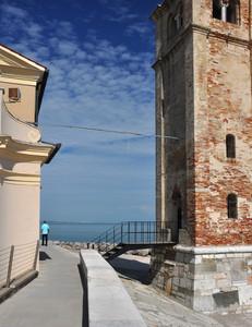 Ponte d'accesso al campanile della Chiesa della Madonna dell'Angelo