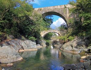 Ponte medievale dei Preti e ponte del 1788