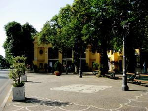 Fiuggi piazza Frascara