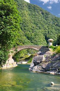 Ponte Romanico Sull' Argentina