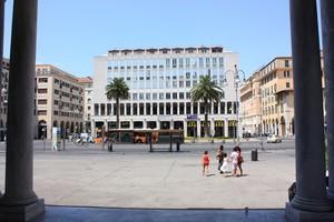 Piazza Grande di Livorno dalla Chiesa