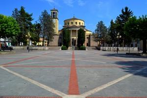 """ Io e San Tommaso "" – Piazza San Tommaso – Aquino (Fr)."