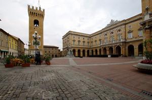 La piazza del poeta