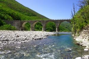 il ponte sul Borbera 2…..