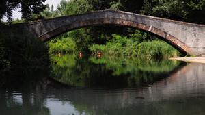 Il ponte a Marina di Pietrasanta