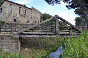 Ponte in legno per Terrecotte