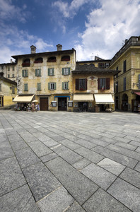 Orta, Piazza Motta
