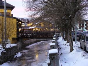 ponti nel ghiaccio