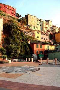 Riomaggiore piazza centro