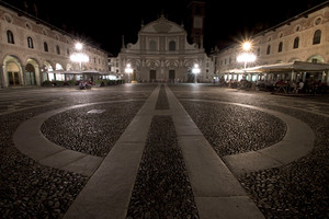Vigevano by night