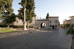 La piazza superiore