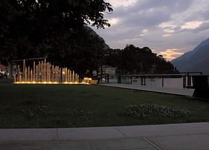 Tramonto su piazza Garibaldi