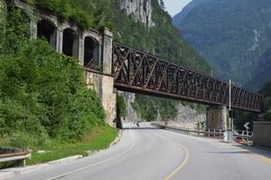 Ex ponte ferroviario ora pista ciclabile