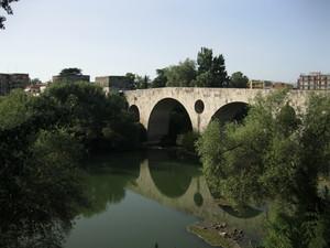 Capua Ponte Romano e torri Federico 2°di Svevia