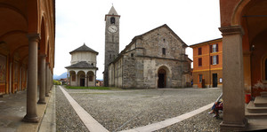 Piazza della chiesa, Baveno