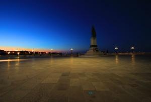 La piazza degli Dei