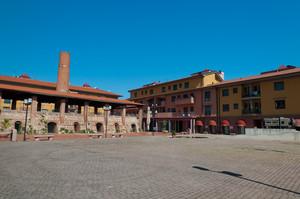 Piazza della fornace Riglione